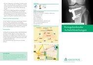 Kniegelenknahe Achsfehlstellungen - Asklepios