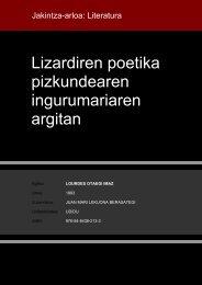 Lizardiren poetika pizkundearen ingurumariaren argitan - Euskara