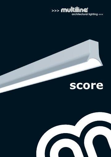 Multiline Licht | Score Produktbroschüre