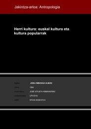 Herri kultura: euskal kultura eta kultura popularrak ... - Euskara