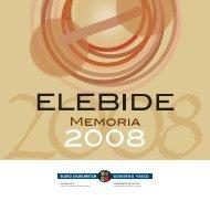 Memoria 2008 - Euskara - Euskadi.net