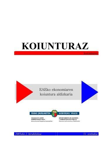KOIUNTURAZ - Euskara