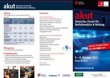 5. – 6. Oktober 2012 - Asklepios