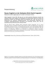 Elternkreis herzkranker Kinder - Asklepios Kinderklinik Sankt Augustin