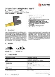 2/2 Solenoid Cartridge Valve, Size 10