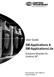 SM Applications Module Getting Started Guide