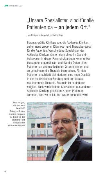 """""""Unsere Spezialisten sind für alle Patienten da – an ... - Asklepios"""