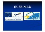 Uporaba samovarovalnega kompleta - EUSR