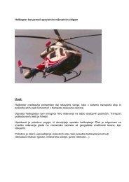 Reševanje s pomočjo helikopterja - EUSR