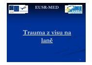 Trauma z visu na laně - EUSR