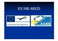 Sidriščne točke - EUSR
