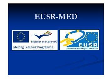 Bruk av mellomforankringer - EUSR