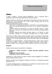 Osebna varovalna oprema (OVO) - EUSR