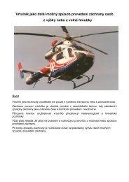 Záchrany s využitím vrtulníku - EUSR