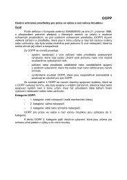 Osobní ochranné prostředky pro práce ve výšce a nad ... - EUSR