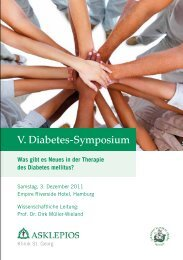 V. Diabetes-Symposium - Asklepios