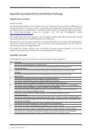 Geprüfte Lernziele EUUS (schriftliche Prüfung)
