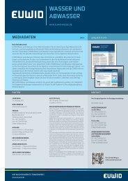 Deutsch - EUWID Wasser und Abwasser