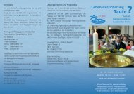 Taufe? - Evangelische Akademie