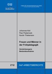 Frauen und Männer in der Frühpädagogik 2'12 - HoF - Martin-Luther ...