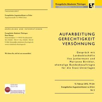 Veranstaltungsflyer zum Download (pdf, 175 KB) - Evangelische ...