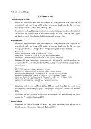 Schriftenverzeichnis - Evangelische Akademie Thüringen