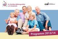 Jahresprogramm 2013/14 - Ev. Fabi