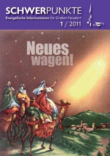 1 / 2011 - Evangelische Kirchengemeinde Graben-Neudorf