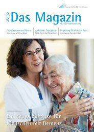 Das Magazin 3/2012 - Evangelische Heimstiftung