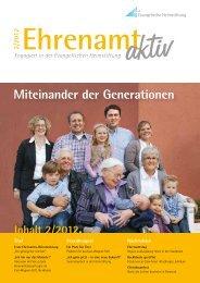 """""""Ehrenamt aktiv"""" 2/2012 - Evangelische Heimstiftung"""