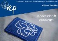 Jahresschrift 2010/2011 - Evangelische Jugend von Westfalen