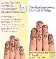 Flyer Kirchenfest 2012 Web - Evangelische Kirche Stuttgart