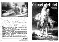 Gemeindebrief Dezember 2003/Januar 2004 - Evangelische ...