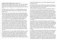 Predigt 100 Jahre CVJM Heiningen: 1. Samuel 16, 7 Betrete die ...