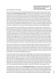 Bericht Herbstsynode 2012 - Evang. Kirchenbezirk Göppingen
