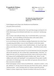 Neujahrsbrief unserer Prälatin Gabriele Wulz