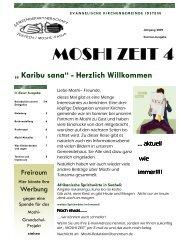 MOSHI ZEIT 4 - Evangelische Kirchengemeinde Idstein