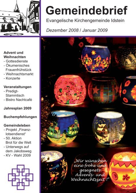 Gemeindebrief, Ausgabe Dezember 2008/Januar 2009