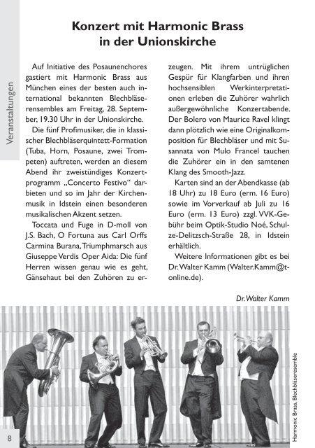 Gemeindebrief, Ausgabe Juli/August/September 2012