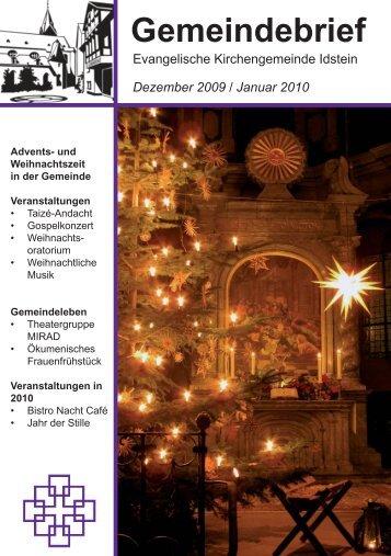 Gemeindebrief, Ausgabe Dezember 2009/Januar 2010