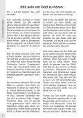 Gemeindebrief, Ausgabe Dezember 2009/Januar 2010 - Page 6