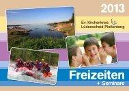 Freizeiten und Schulungen 2013 - Ev. Kirchenkreis Lüdenscheid ...