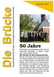 50 Jahre - Evangelische Kirchengemeinde Winnenden