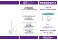 KFM-Web Auskunft + Belegerfassung Donnerstag, 20. Juni 2013 für: