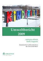 Umweltbericht 2009 - Asklepios Kinderklinik Sankt Augustin