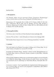 1 Schriftenverzeichnis Burkhard Reis 1. Monographien Der ...