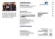 Flyer zum Facharbeitspreis - Evangelisch-Theologische Fakultät ...