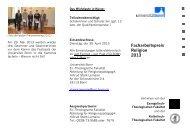 weitere Informationen zum Facharbeitspreis 2013 - Evangelisch ...