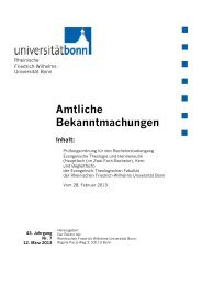 Prüfungsordnung 2013 - Evangelisch-Theologische Fakultät ...