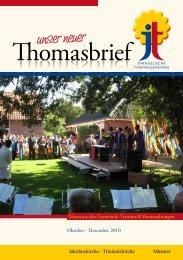 Gemeindebrief als pdf-Datei - der Ev. Thomasgemeinde